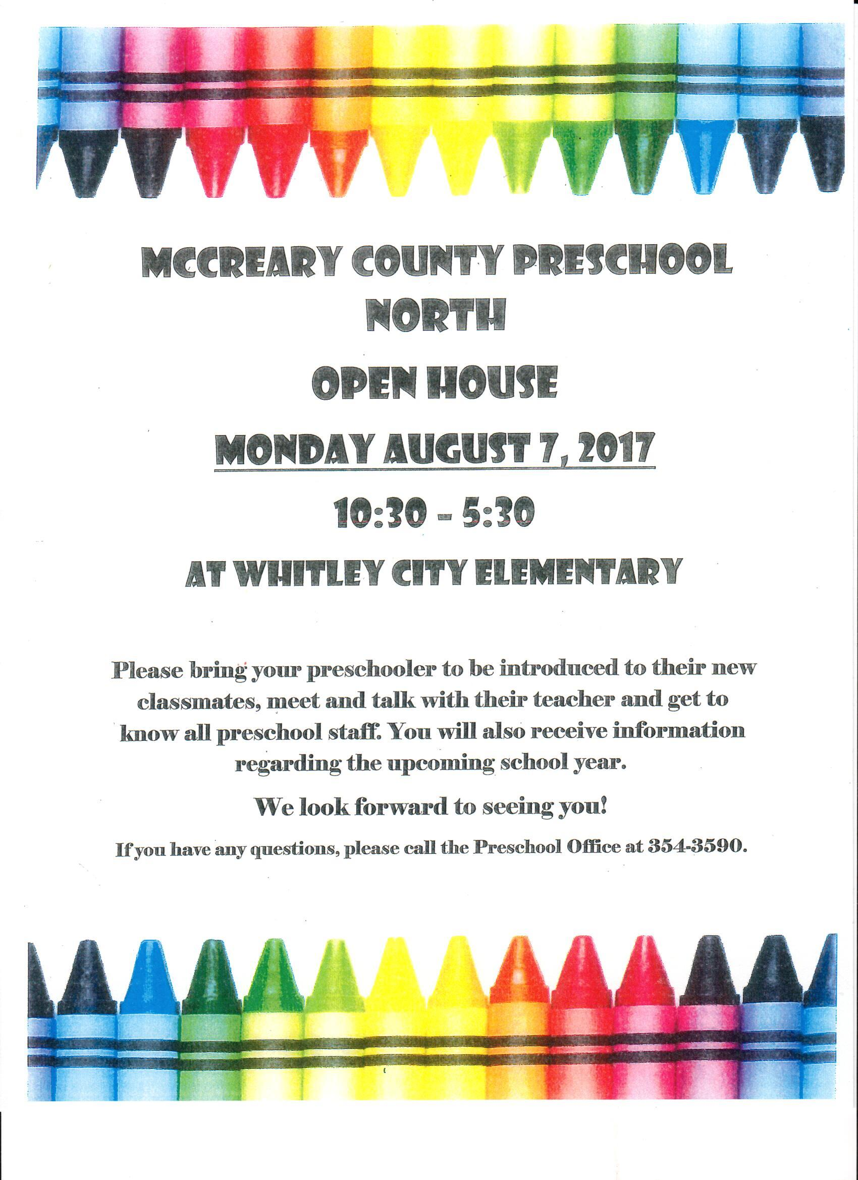 August 7, 2017 at Whitley City Elementary